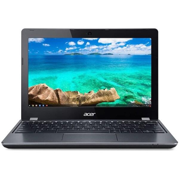 Acer Chromebook C740-C4PE 11.6-in Refurb Laptop - Intel Celeron 3215U 1.70 GHz 4GB 16GB SSD Chrome OS - Bluetooth, Webcam. Opens flyout.