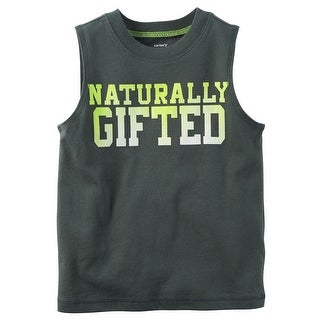 Carter's Baby Boys' Naturally Gifted Muscle Tee, 6 Months