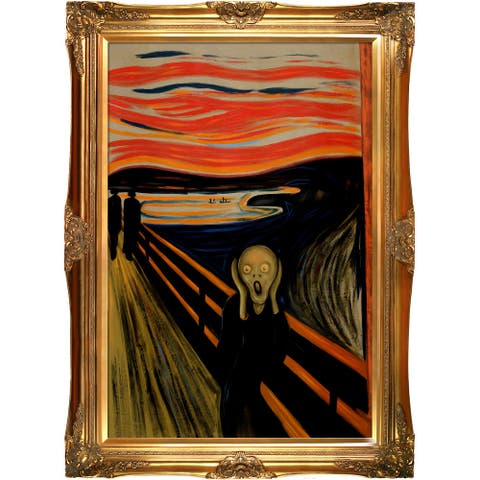 Edvard Munch 'The Scream' Hand Painted Oil Reproduction
