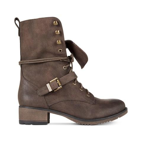 American Rag Womens reighnp Closed Toe Mid-Calf Fashion Boots