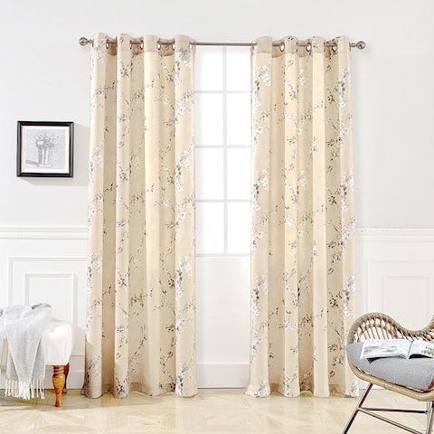 DriftAway Mackenzie Room Darkening Window Curtain Panel Pair