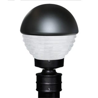 Costaluz 3061-POST-FR 1 Light Incandescent Post Light with Frosted Glass Shade