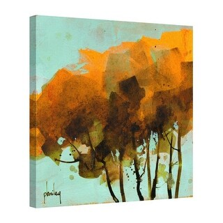 Easy Art Prints Paul Bailey's 'Seven Trees' Premium Canvas Art