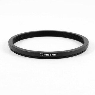72mm to 67mm Camera Filter Lens 72mm-67mm Step Down Ring Adapter