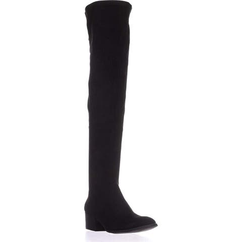 Kenneth Cole New York Womens 7 Adelynn Closed Toe Knee High Fashion Boots
