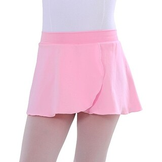 SoDanca Pink Pull On Ballet Dance Skirt Toddler Little Girls 2T-16