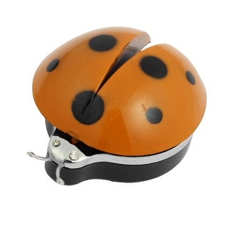 Unique Bargains Unique Bargains Car Air Vent Clip Orange Plastic Ladybug Shaped Air Freshener