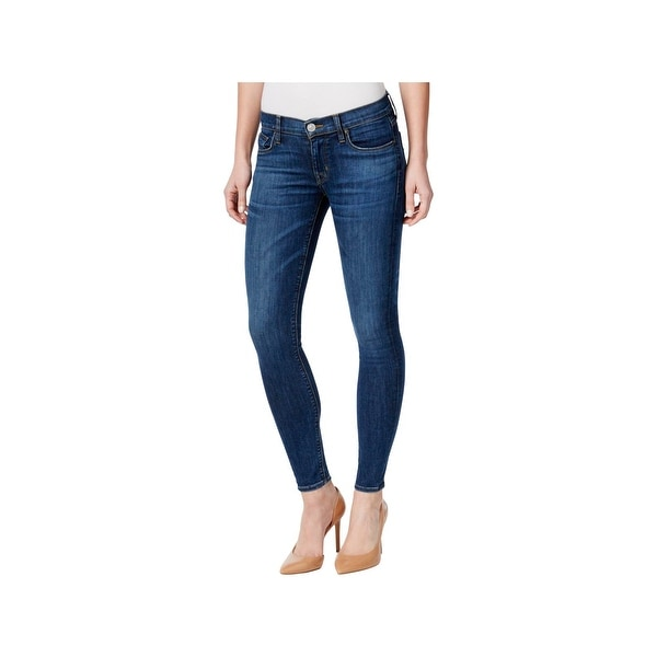 49f449f554f Shop Hudson Womens Krista Ankle Jeans Low Rise Super Skinny - 29 ...