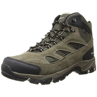 Hi-Tec Mens Logan Wp , Smokey Brown/Olive/Snow