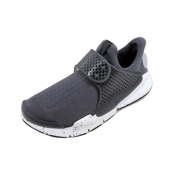 outlet store cfffa 99a5a Nike Men  x27 s Sock Dart Wolf Grey Wolf Grey-White-