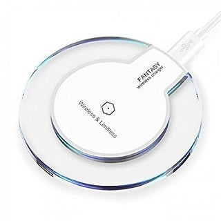 Indigi® 2017 BlueCharge Wireless Charging Pad (Qi Technology) - iPhone X/8 & Android Devices