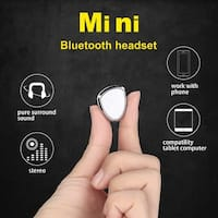 Mini Bluetooth 4.1 Stereo Headset In-Ear Wireless Earphone Earbud Headphone,color White