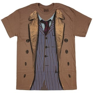 Doctor Who 10th Doctor Costume Sound of Drums Mens T-Shirt