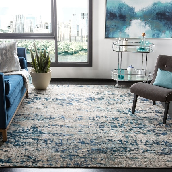 SAFAVIEH Madison Loane Modern Abstract Rug. Opens flyout.
