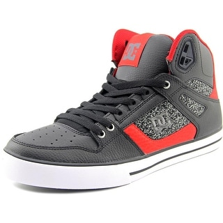 DC Shoes Spartan High WC Round Toe Leather Skate Shoe