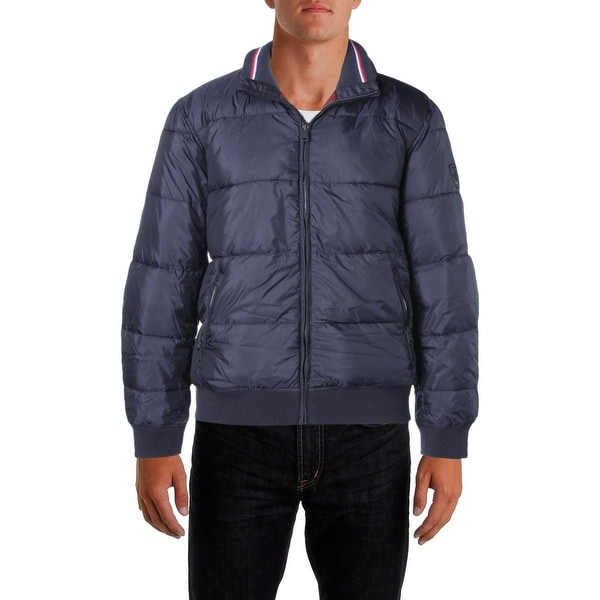 8cd70d2e Shop Tommy Hilfiger Mens Puffer Coat Cold Stop Zip Front - XL - Free  Shipping Today - Overstock - 19271491
