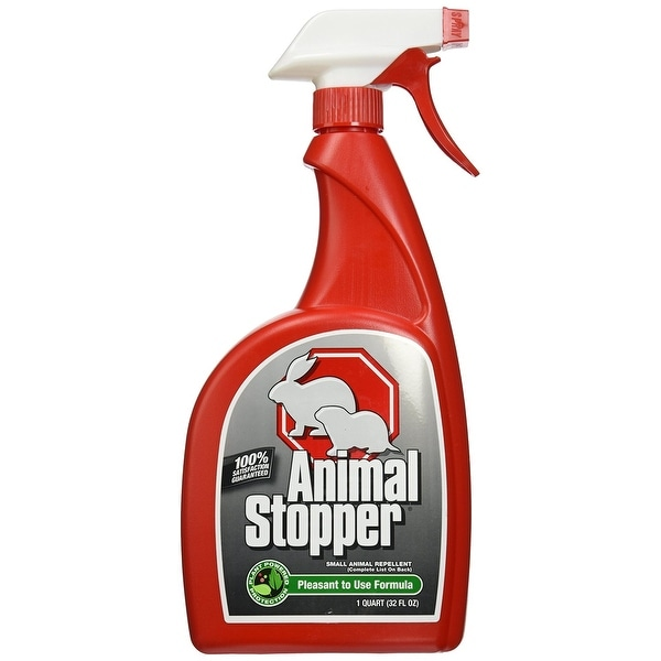 Animal Stopper AS-U-016 Animal Repellent, Trigger Bottle, 32 Oz
