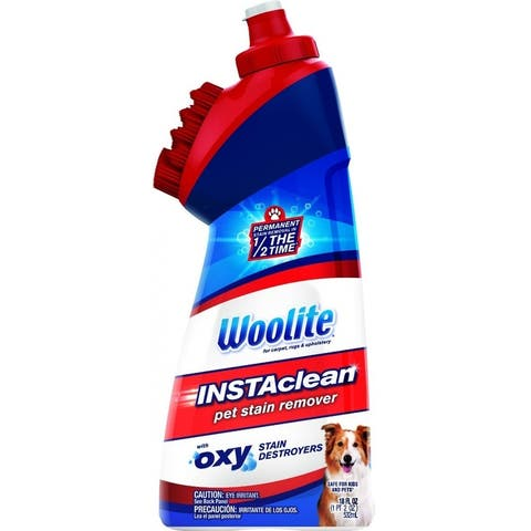 Woolite 1740 INSTAclean Pet Oxy Carpet Cleaner, 18 Oz