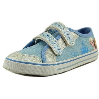 Disney Frozen Canvas Sneakers Youth Round Toe Canvas Sneakers