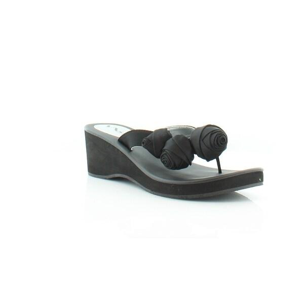 Nina Jaqui Women's Sandals & Flip Flops Black
