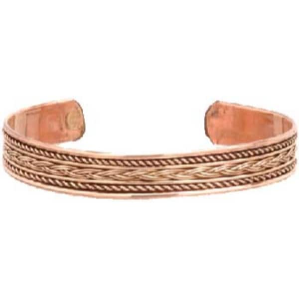 Copper Braided Bracelet Free Shipping On Orders Over 45 22318212