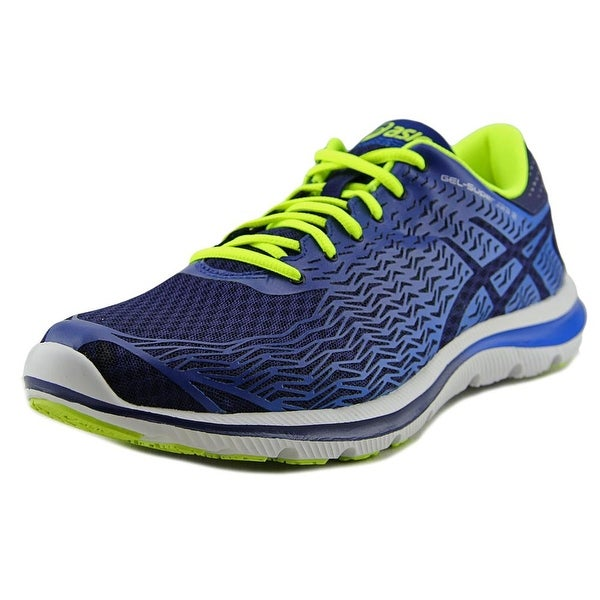 Asics GEL-Super J33 2 Men Round Toe Synthetic Blue Running Shoe