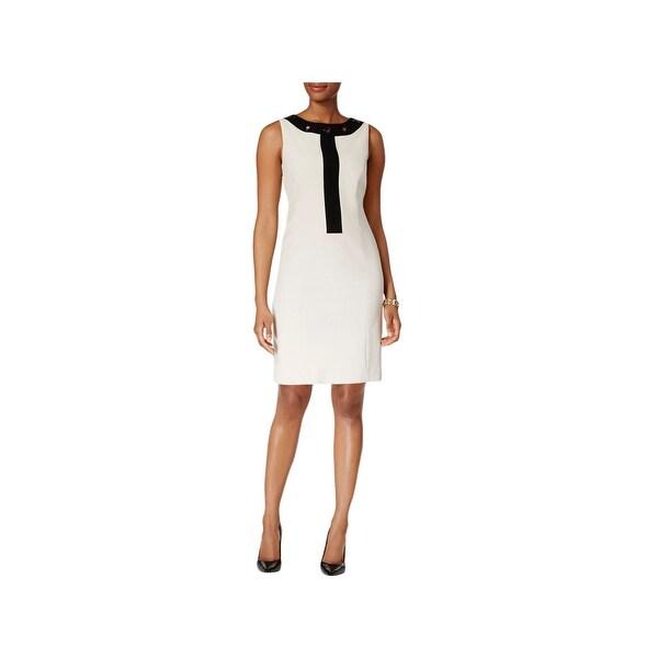 53e393c26f Shop Nine West Womens Sag Harbor Wear to Work Dress Knee Length ...