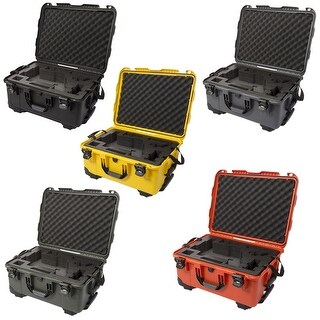 Nanuk 950 Waterproof Hard Case with Wheels for DJI Ronin-M