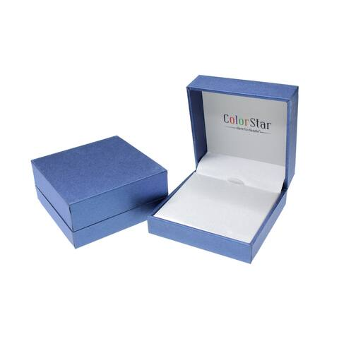 ColorStar Sterling Silver Freshwater Cultured Pearl 3-Piece Gift Box Set