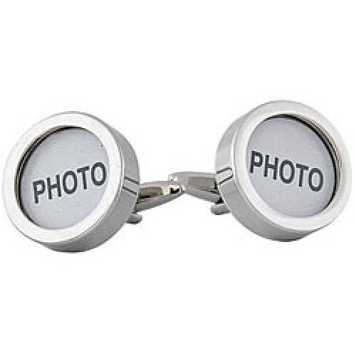 Photo Customizable Grandparents Parents Memories Photographs  Cufflinks
