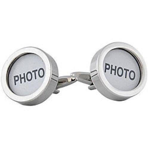 Photo Customizable Grandparents Parents Memories Photographs Cufflinks