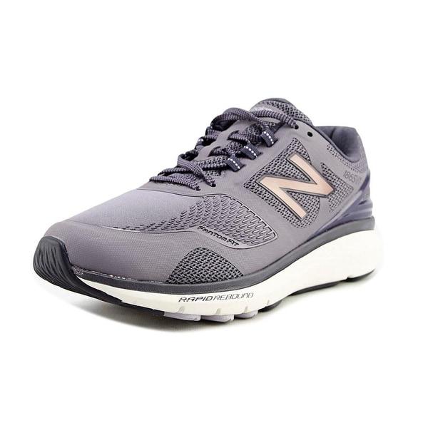 New Balance WW1865 Women D Round Toe Synthetic Purple Walking Shoe