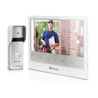 "Expandable Intercom & Video Doorphone with 7"" LCD"