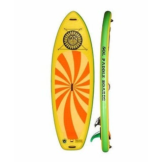 """SOL Paddle Boards SOLshine SUP 9' 6"""" Inflatable SUP up to 275 lbs"""