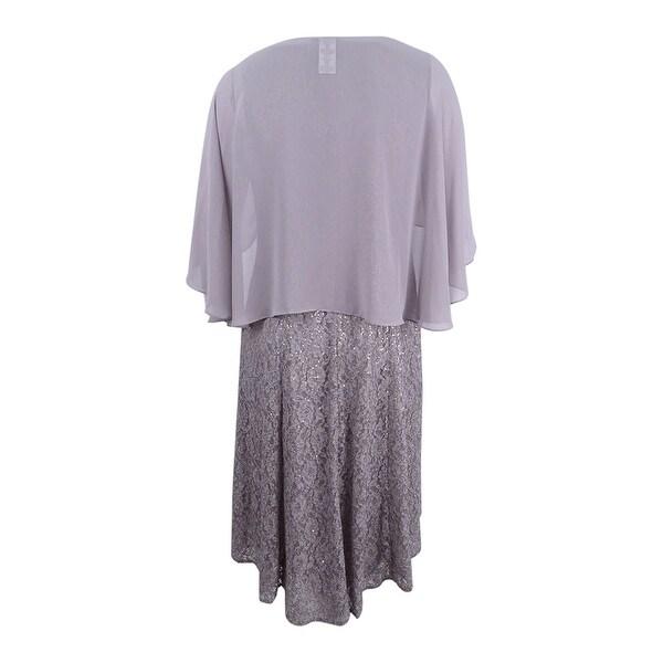 Fashions Womens Cape Dress S.L