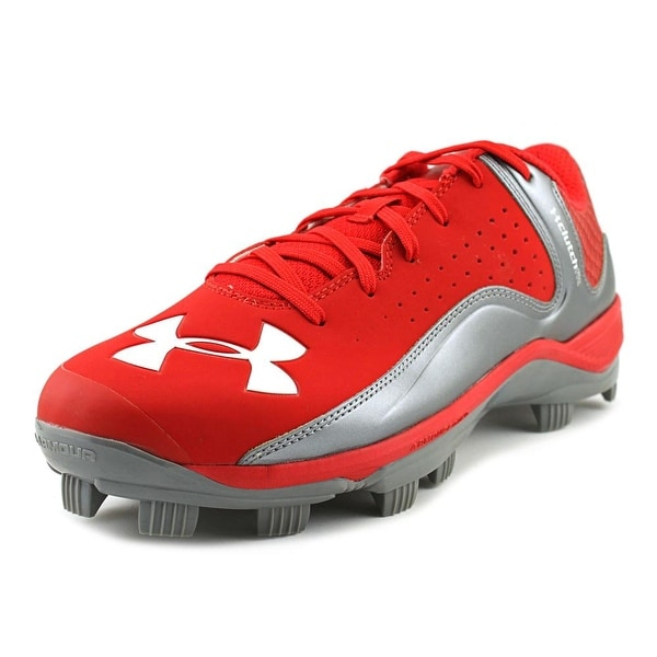 Under Armour Team Yard Low Tpu Men US 11.5 Red Cleats