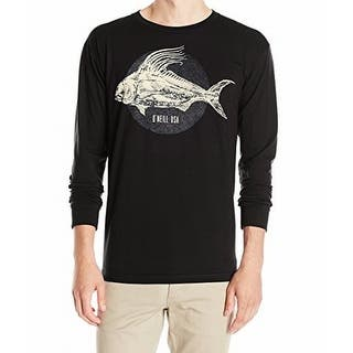 O'Neill NEW Black Mens Size XL Crewneck Fish Logo Graphic Tee T-Shirt|https://ak1.ostkcdn.com/images/products/is/images/direct/2f16ad6bf147cf7a2b8a0cd127822d2ec753b5d5/O%27Neill-NEW-Black-Mens-Size-XL-Crewneck-Fish-Logo-Graphic-Tee-T-Shirt.jpg?impolicy=medium