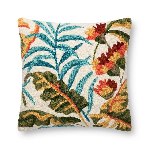 Alexander Home Florida Tropical Palm Throw Pillow. Opens flyout.