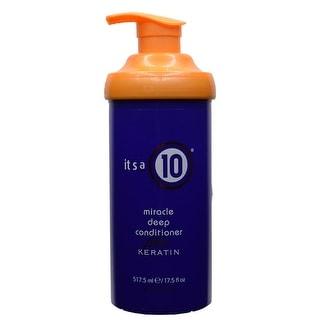 It's a 10 Miracle Deep Conditioner Plus Keratin 17.5 fl oz