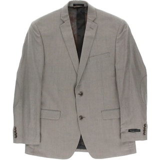 Marc New York by Andrew Marc Mens Notch Collar Long Sleeves Sportcoat - 42R