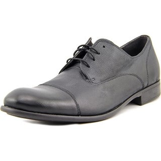 John Varvatos Star Oxford Men Round Toe Leather Oxford