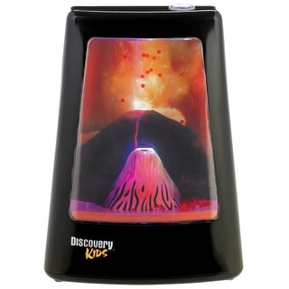 Discovery Kids 1627123 Animated Volcano Lamp
