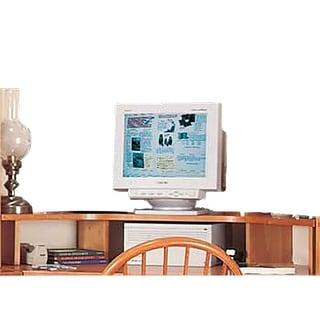 office corner shelf heirloom pine computer monitor shelf with o sullivan corner computer desk