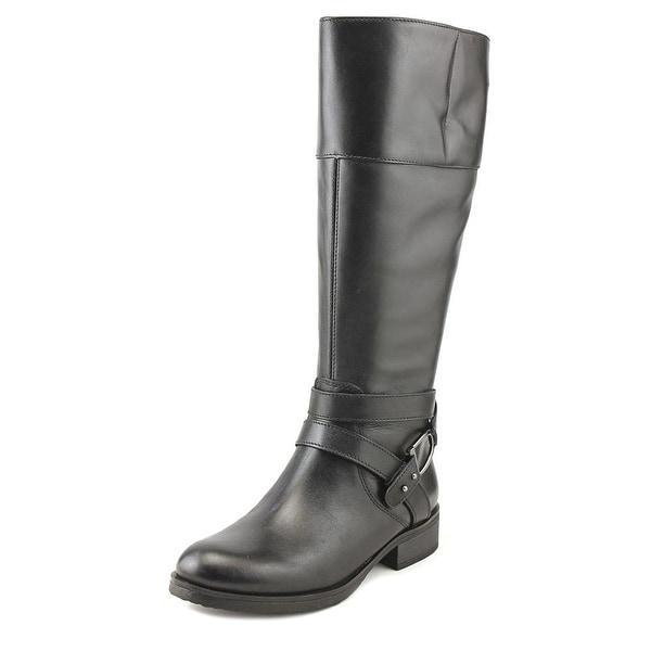 Bandolino Tessi Women Round Toe Leather Knee High Boot
