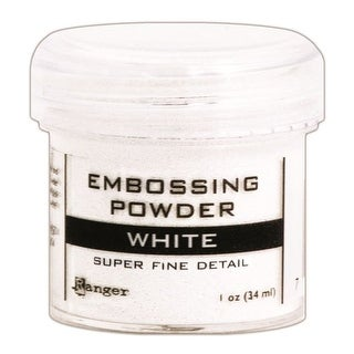 Embossing Powder-Super Fine White