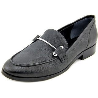 Marc Fisher Carmen Women Round Toe Leather Loafer
