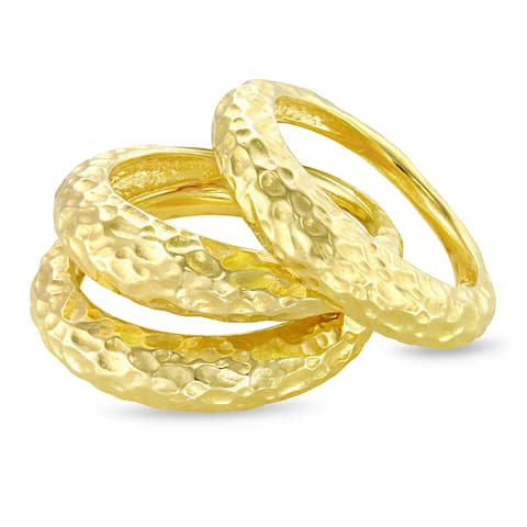 Forever Last 18 kt Gold Plated Women's Ring