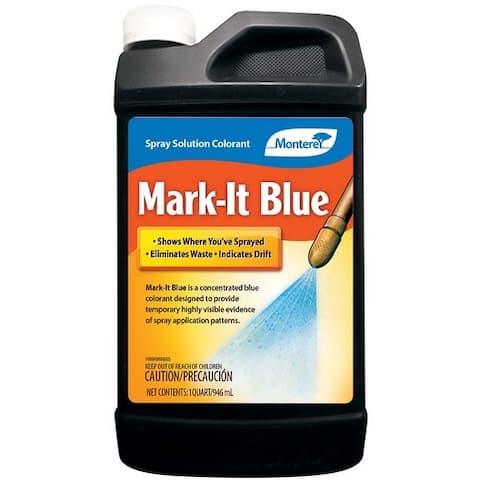 Monterey LG 1128 Mark-It Blue Spray Colorant, 32 Oz