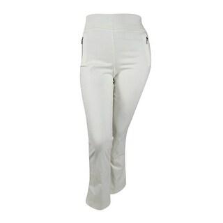 Inc International Concepts Zip-Pocket Bootcut Pants