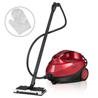 Costway 2000W Heavy Duty Steam Cleaner Mop Multi-Purpose W/19 Accessories 4.0 Bar 1.5L